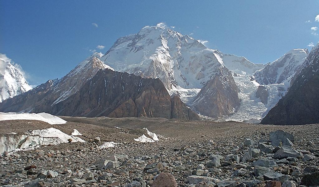 Broad Peak (KIII), Pakistan