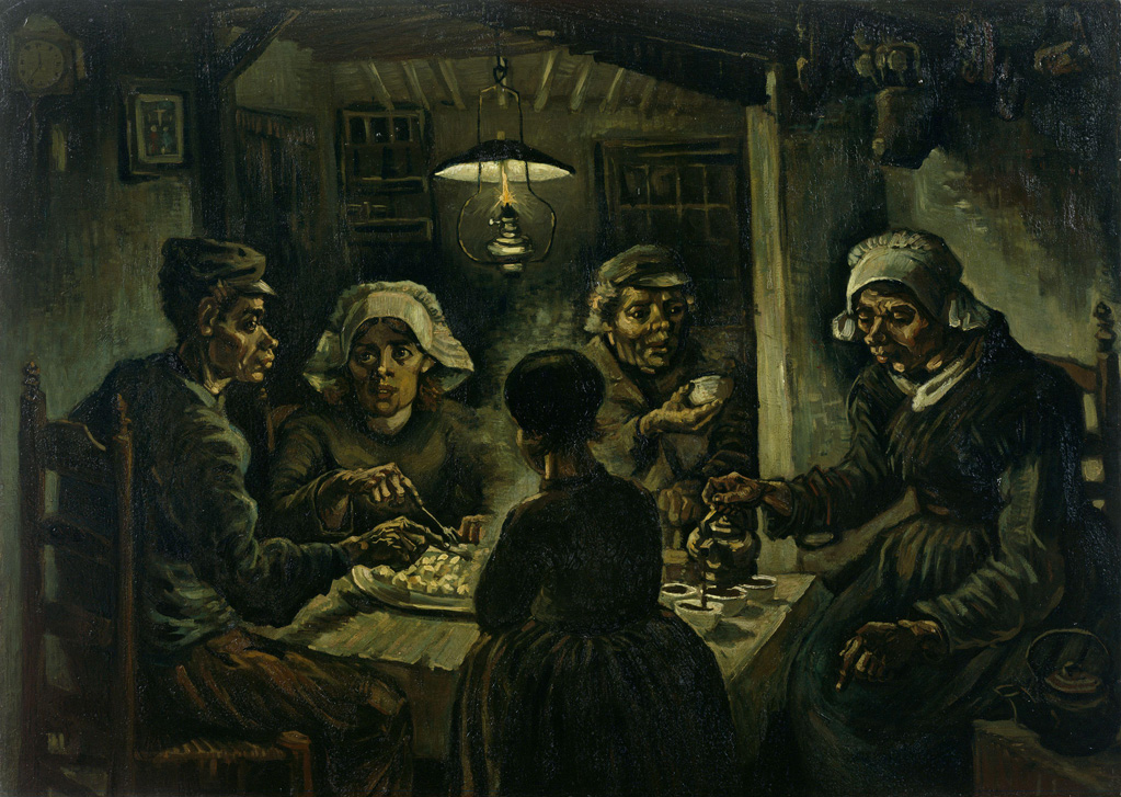 The Potato Eaters- Vincent Van Gogh