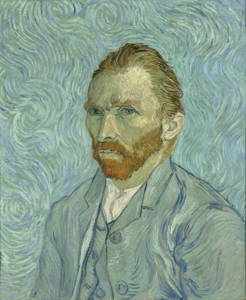 Van Gogh self-portrait (1889)
