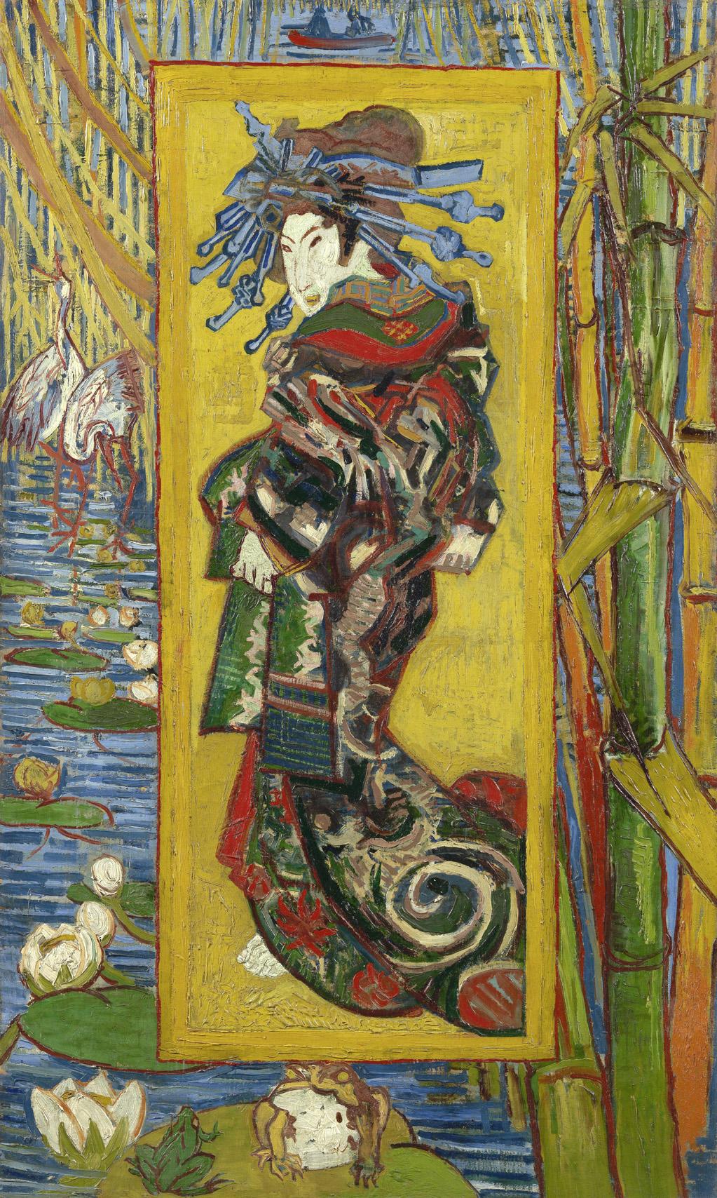 Van_Gogh_The Courtesan after Eisen