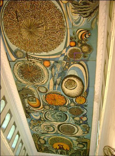 Mural Lahore Museum