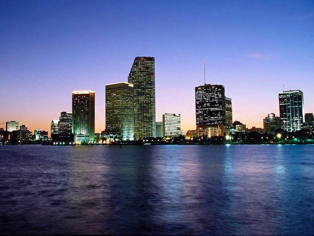 Los Angeles Skyline Panaorma Stock Photo - Download Image
