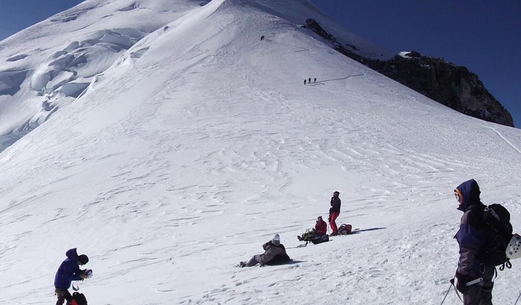 High Altitude Climber