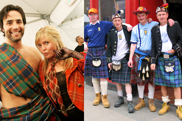 Scotland Traditional Fashion