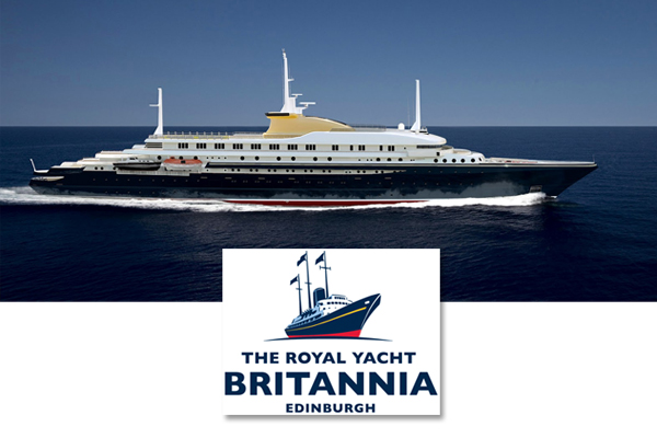 Royal Yatch Britannia Edinburgh