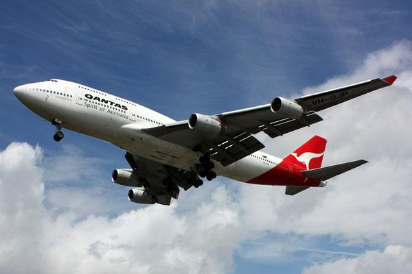 Qantas Boeing 747 - 438