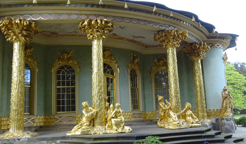 Sanssouci Castle King Fredrick