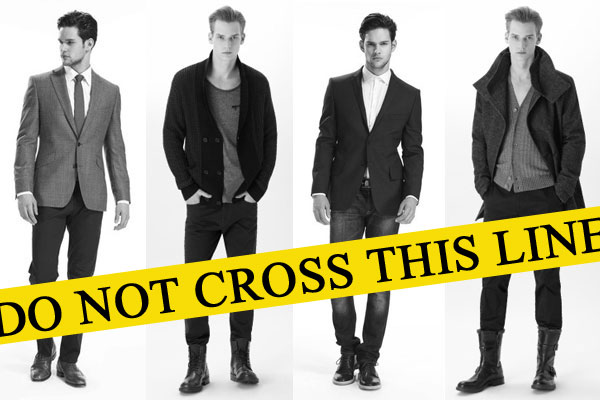 men dress up