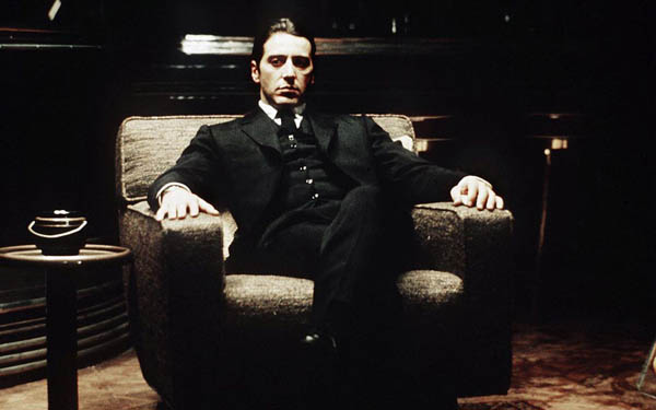 Al Pacino in Godfather