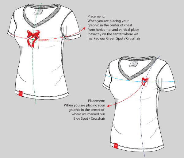 V Neck T Shirt Design Template