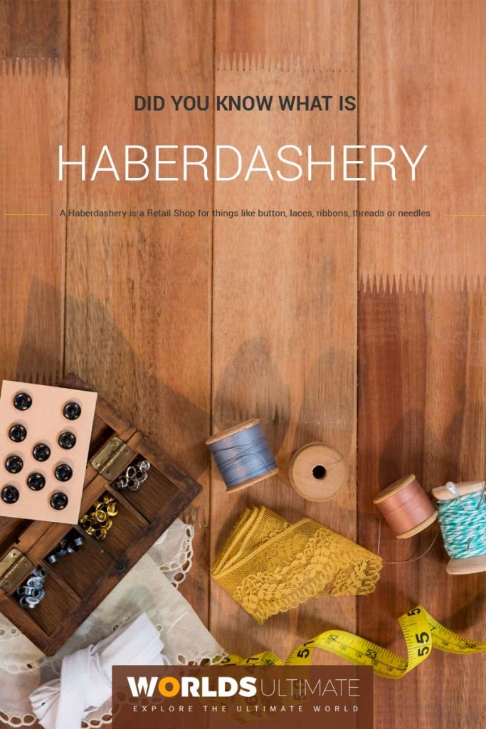 what is a haberdashery