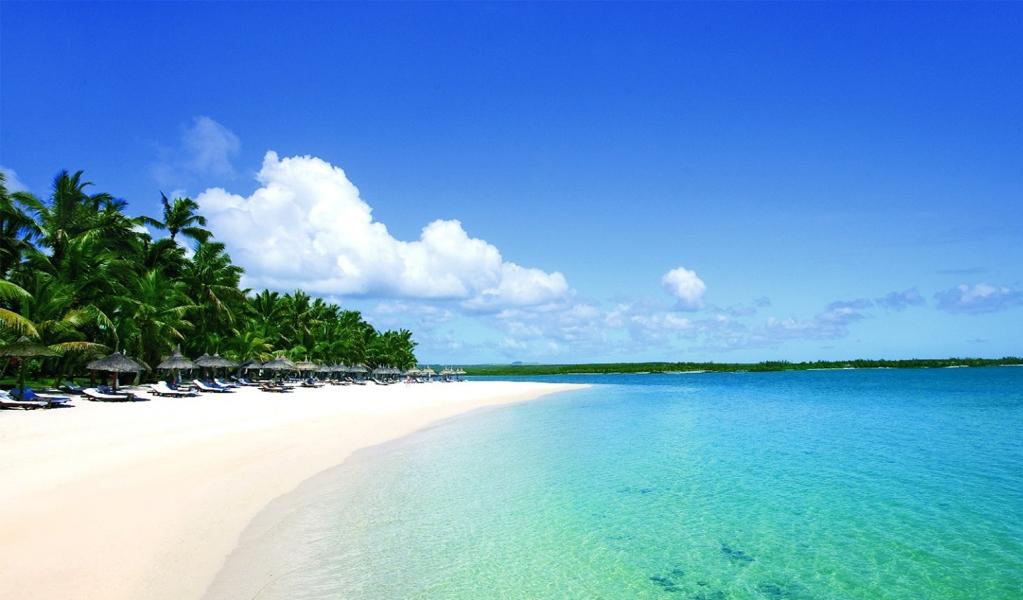 Mont Choisy Beach Mauritius