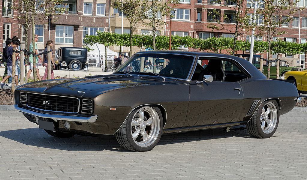 1969 Camaro SS classic muscle cars