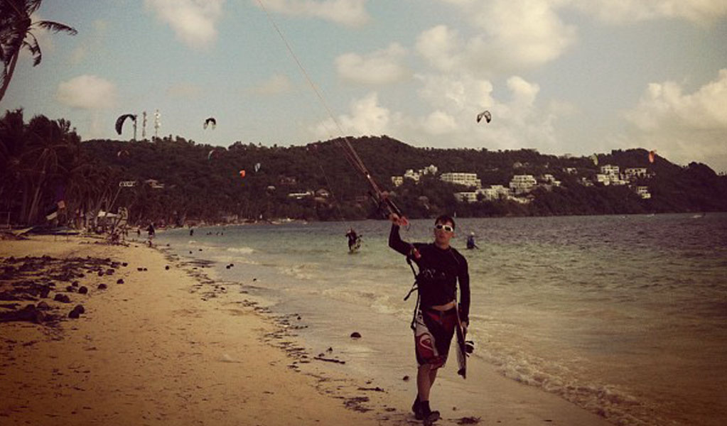 Bulabog Beach, Philippines