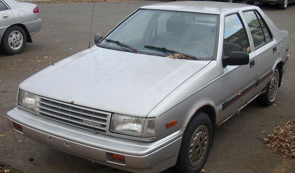 Hyundai Excel (1986-1989)