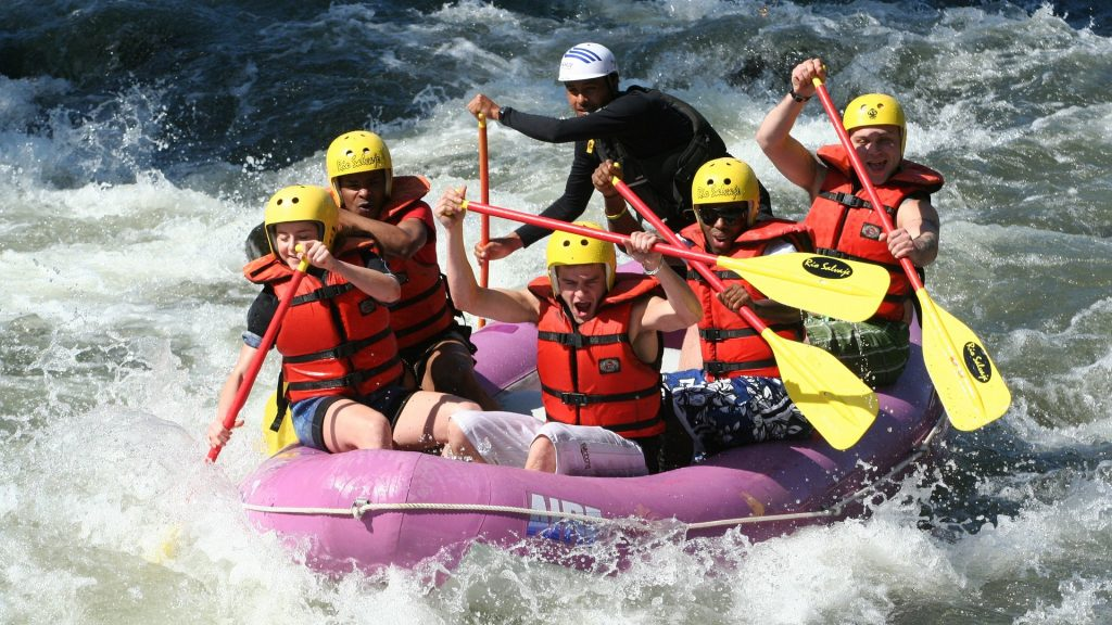 White Water Rafting Most Dangerous Sports