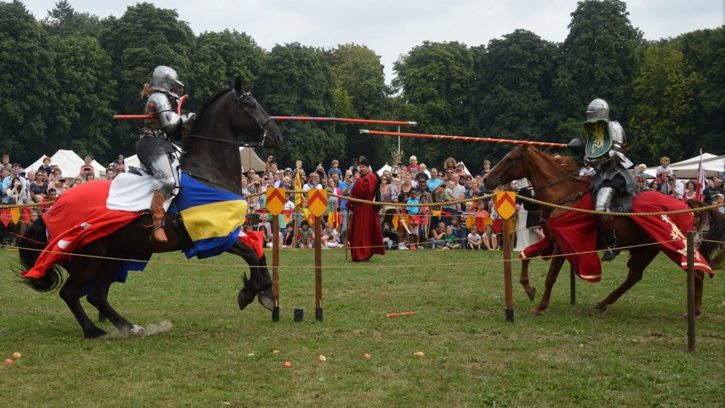 Highly dangerous sport is jousting