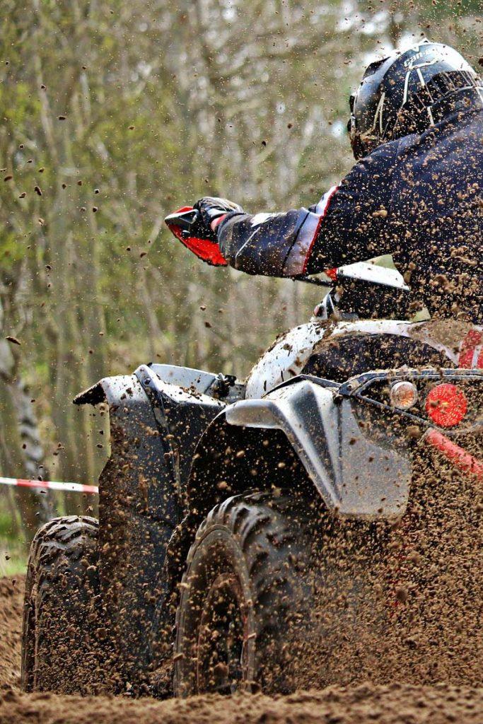 ATV Truck in mud