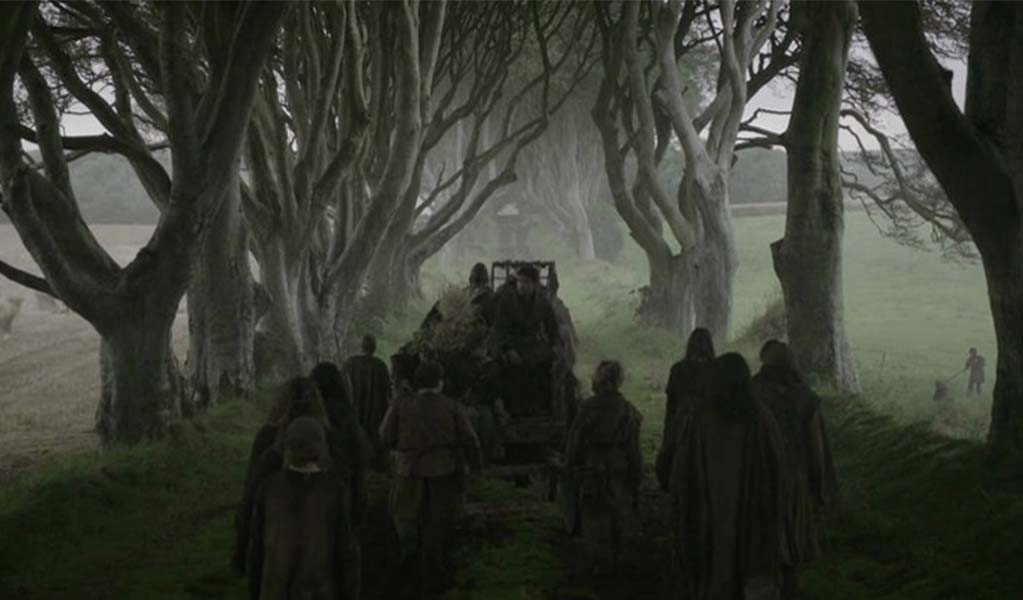 Game of Thrones in ireland