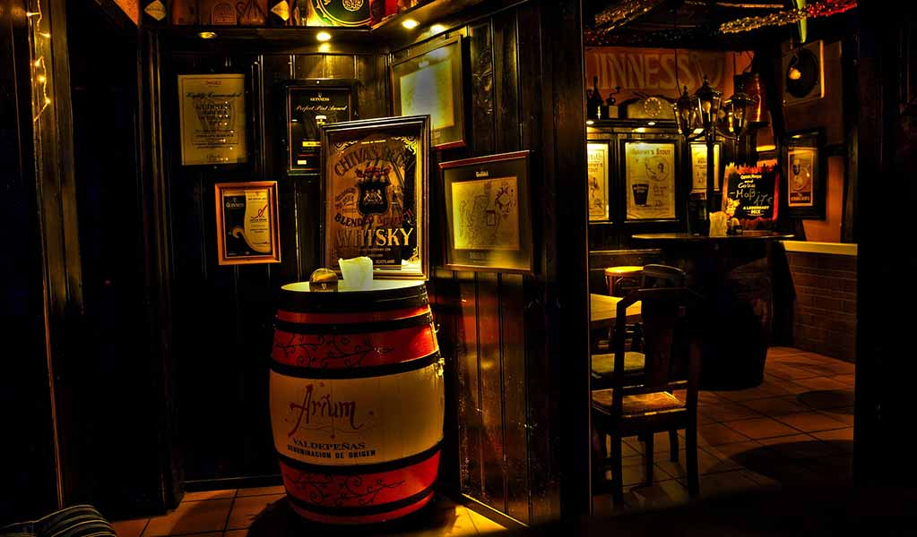 Ireland is most known for their whiskey